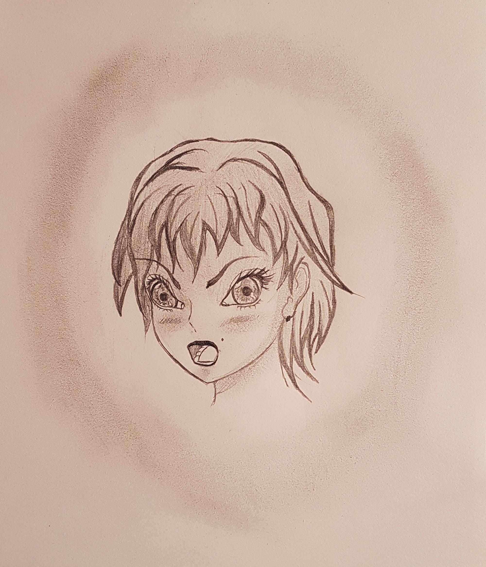Femme visage Original