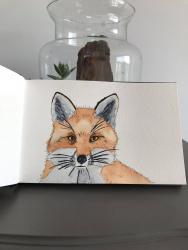 Petit renard (aquarelle)