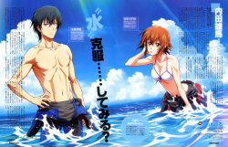 yande.re 465430 bikini_top bodysuit cleavage grand_blue kitahara_iori kotegawa_chisa ueda_youichi wet.jpg